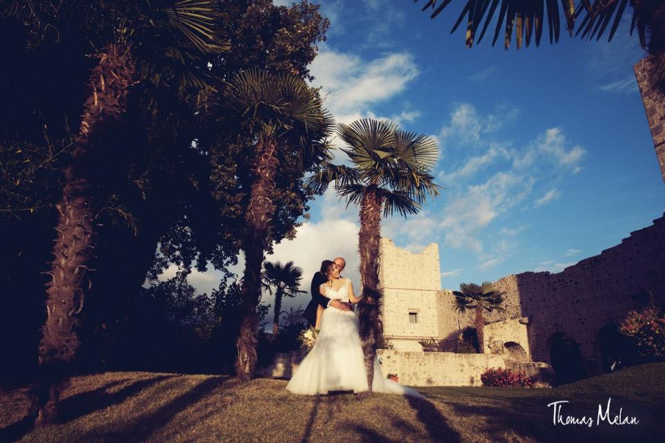 Matrimonio Araya e Manuel - Un Nastrino a pois